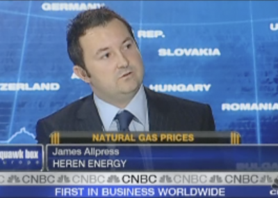 Media interview on CNBC